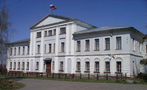 Здание Порецкой учительской семинарии