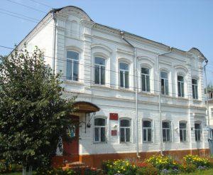 Здание Земского собрания в г. Ядрин